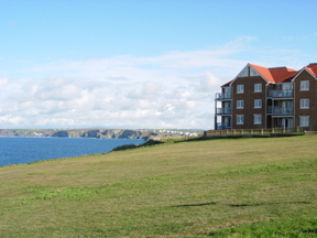 Headland Point Apartments: Our apartments are on the first floor from left to right.